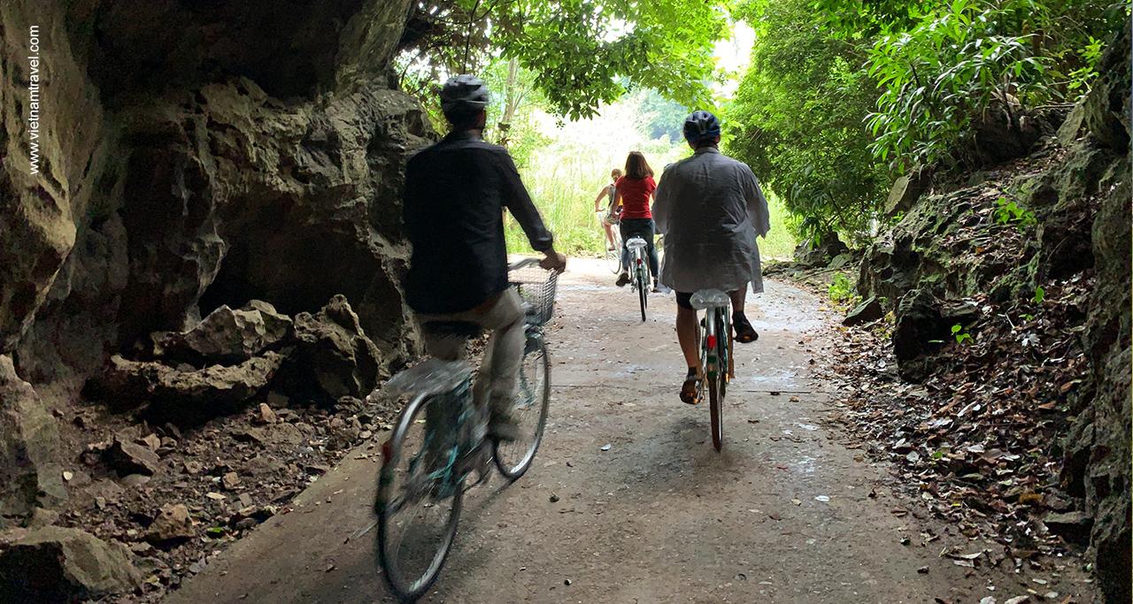 Biking in Cat Ba Island