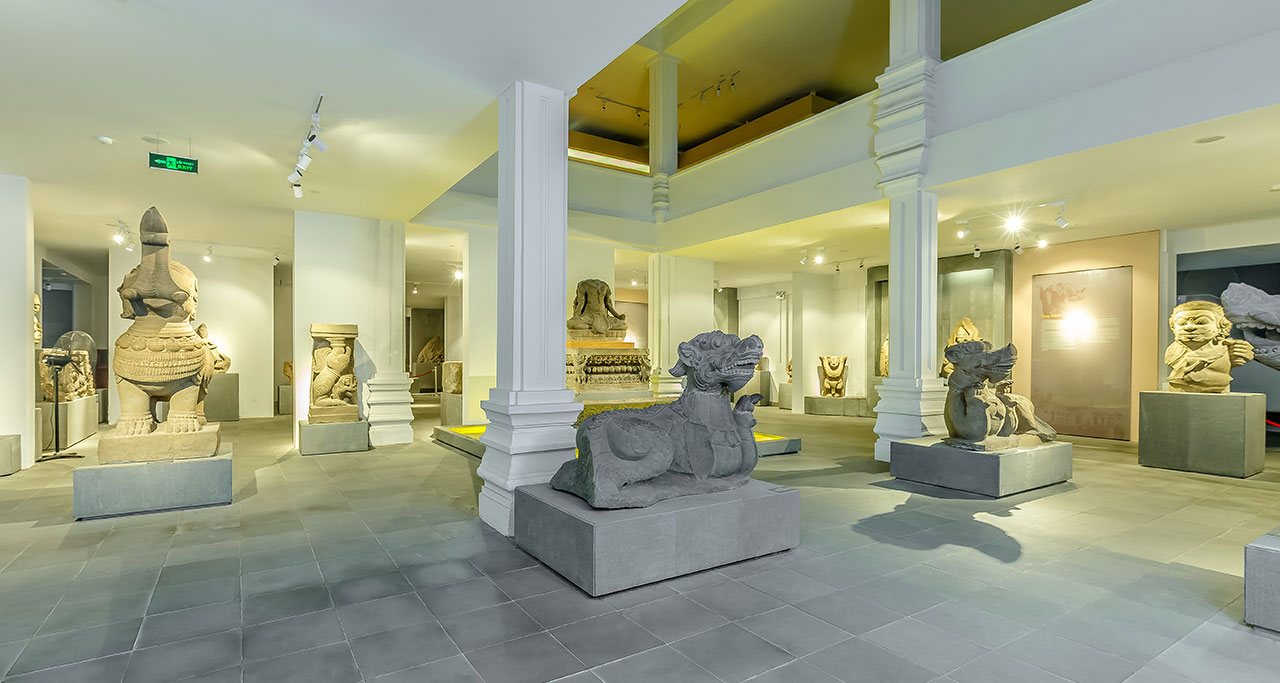 Champa Sculpture Art Museum