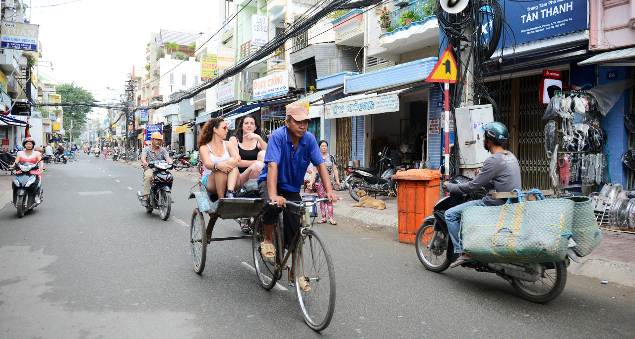 transportation in Chau Doc