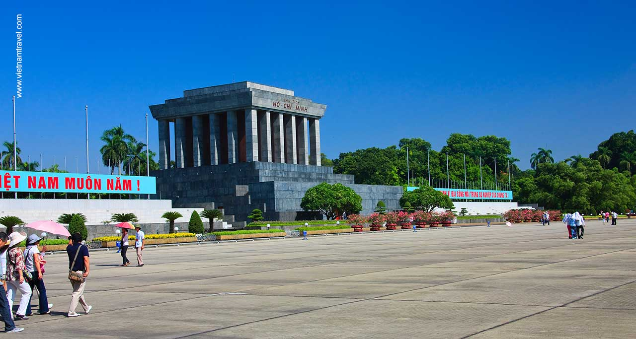 Mausoleum of President Ho Chi Minh