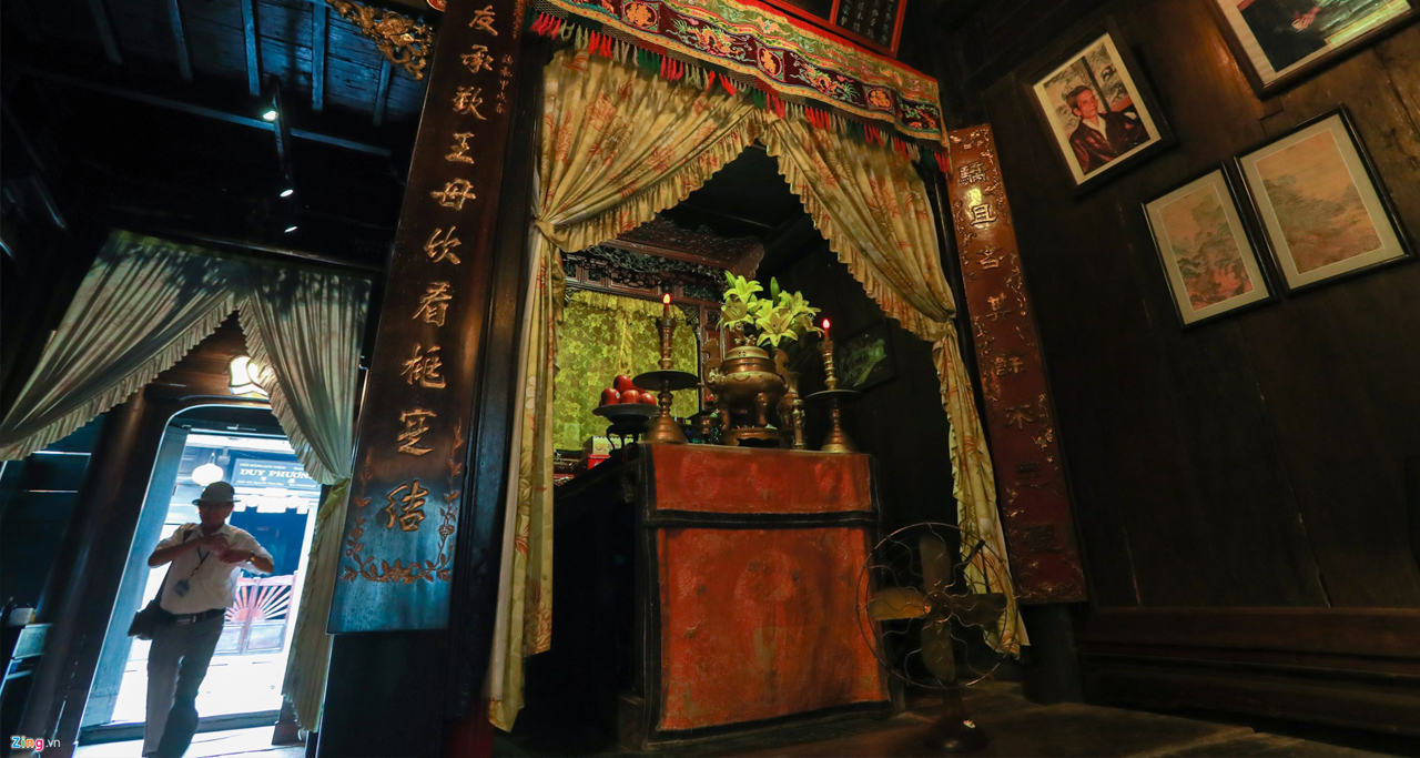 inside of Tan Ky Old House