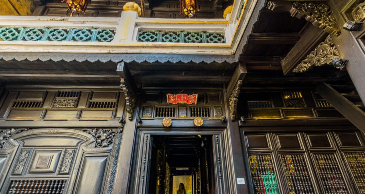 unique architecture of Tan Ky Old House