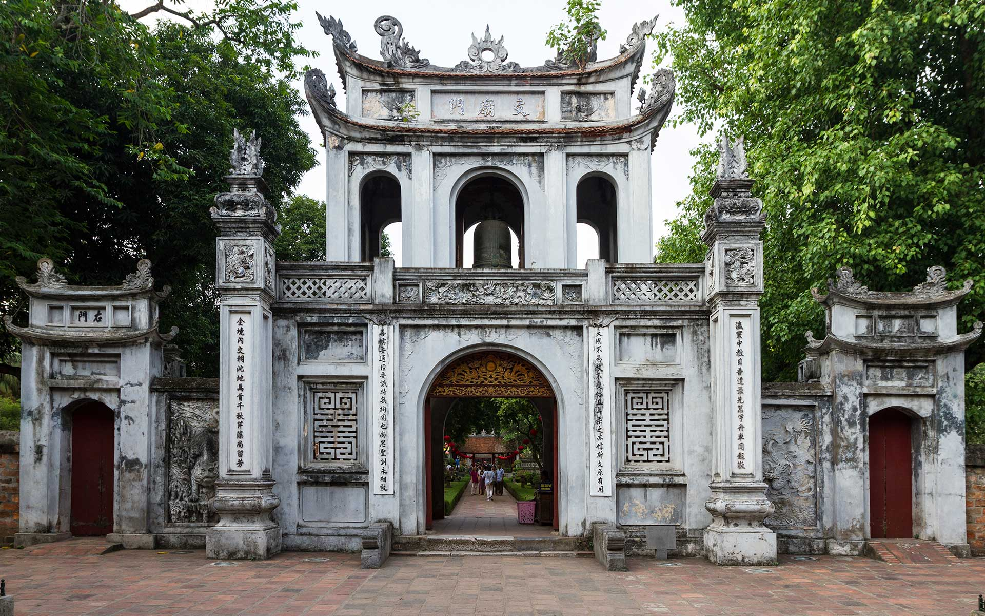 Temple of Literature's front gate