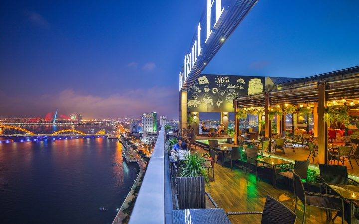 Brilliant Top Bar - open-air space bar & club in Da Nang
