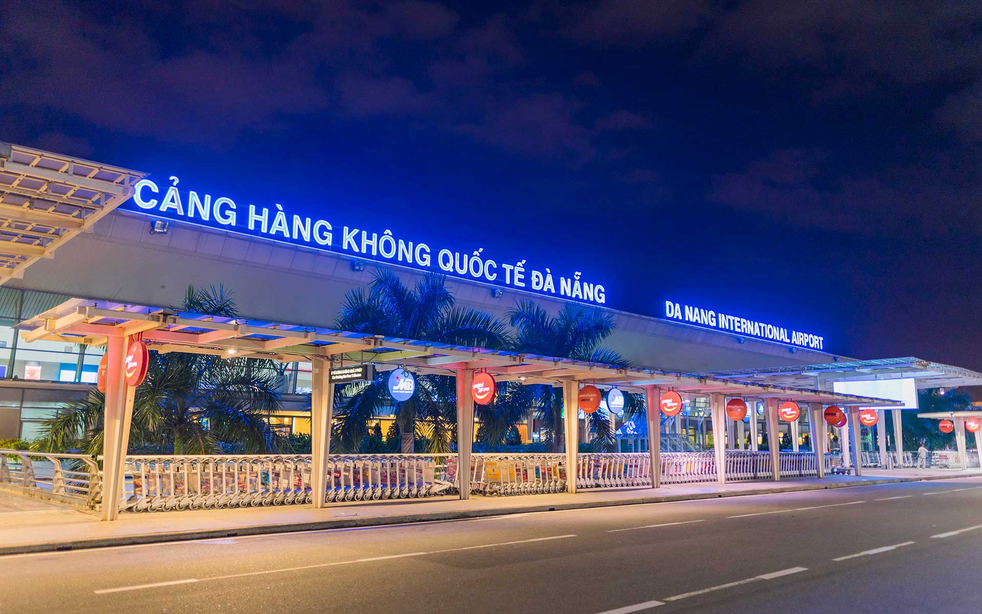Danang International Airport passenger terminal building