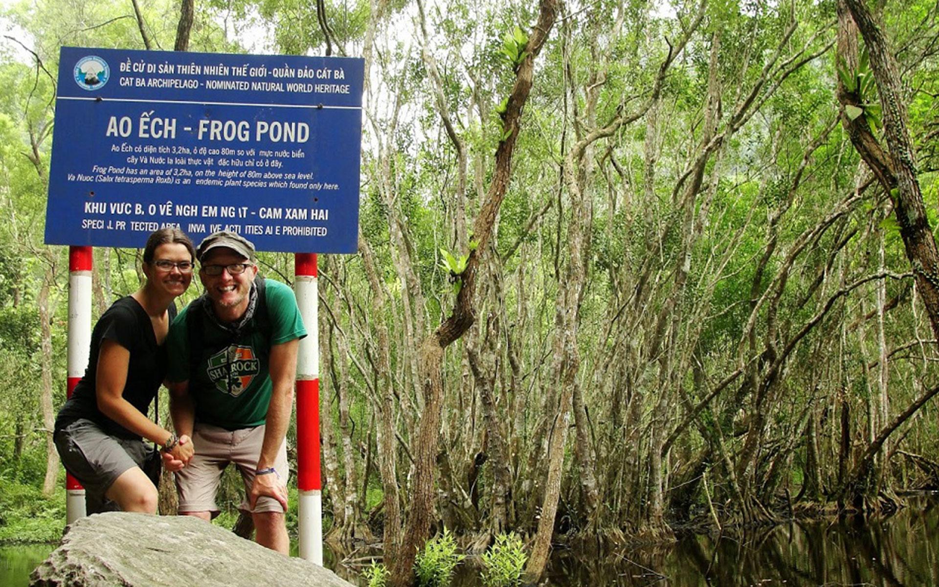 Frog Pond in Cat Ba National Park