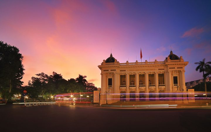 Hanoi Opera House is an outstanding piece of neo-classical French architecture