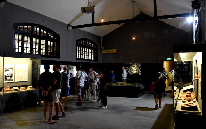 A corner inside Hoa Lo Prison