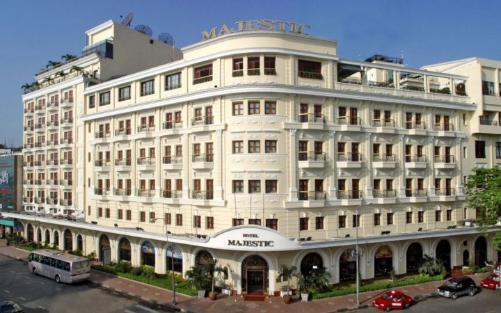 Hotel Majestic Saigon - one of the oldest 5 star hotels in the city.
