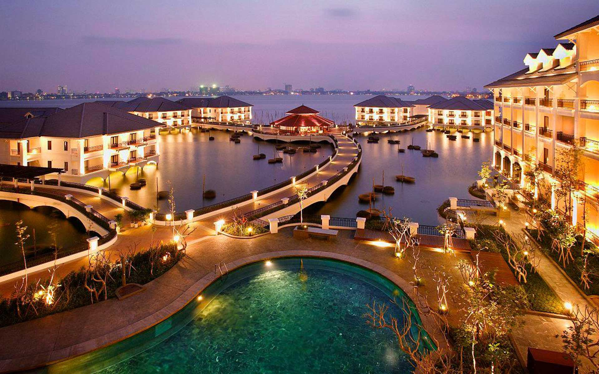 InterContinental Hanoi Westlake - the most luxurious hotel in Hanoi