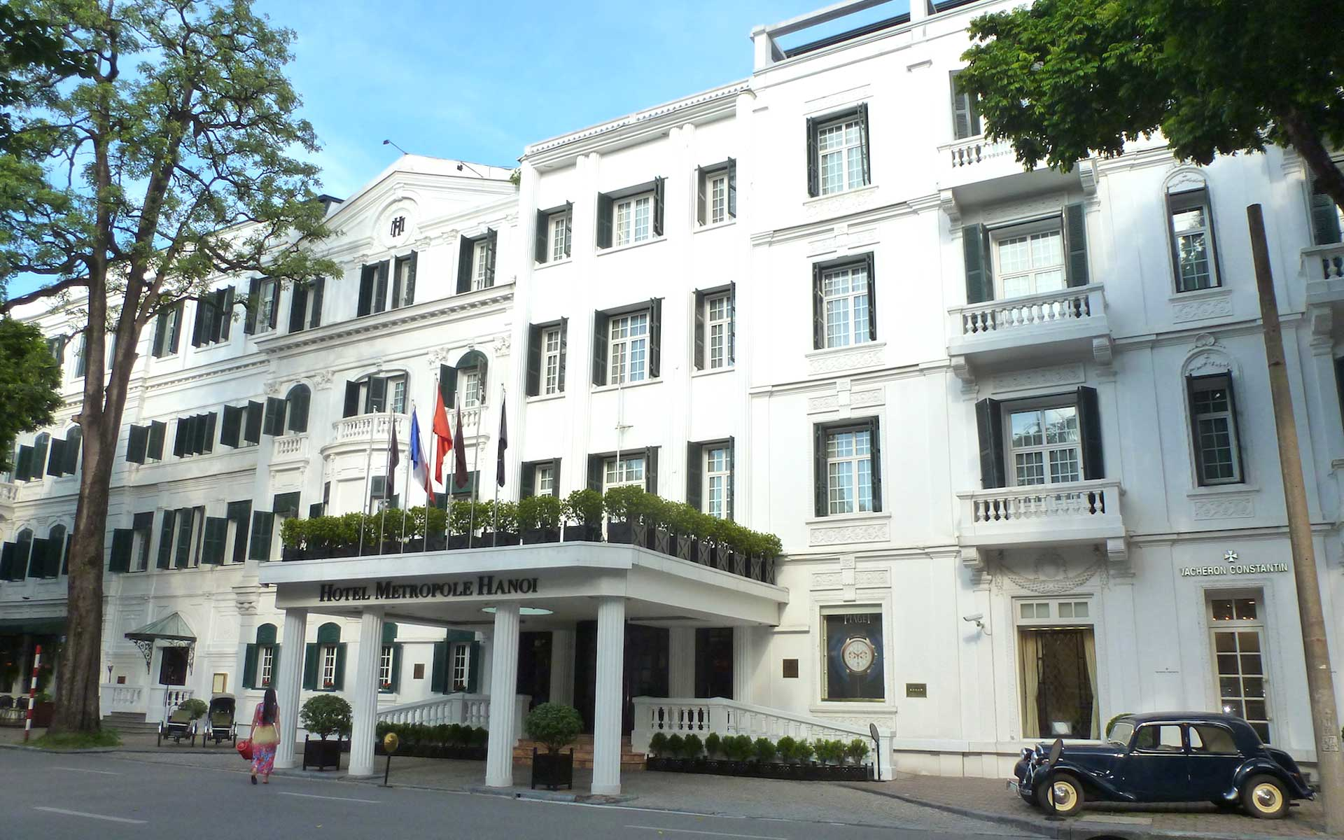 Hotel Metropole Hanoi was constructed by two French investors André Ducamp and Gustave-Émile Dumoutier