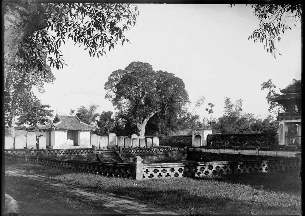 The Temple of Literature Hanoi 1896