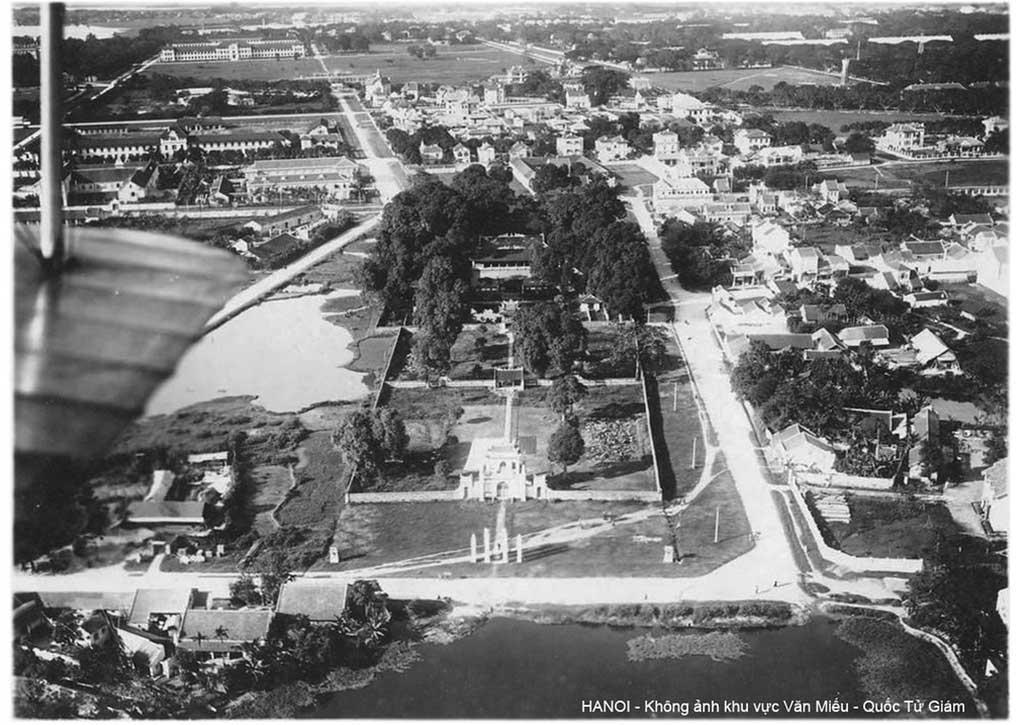 Panorama view of Van Mieu Area