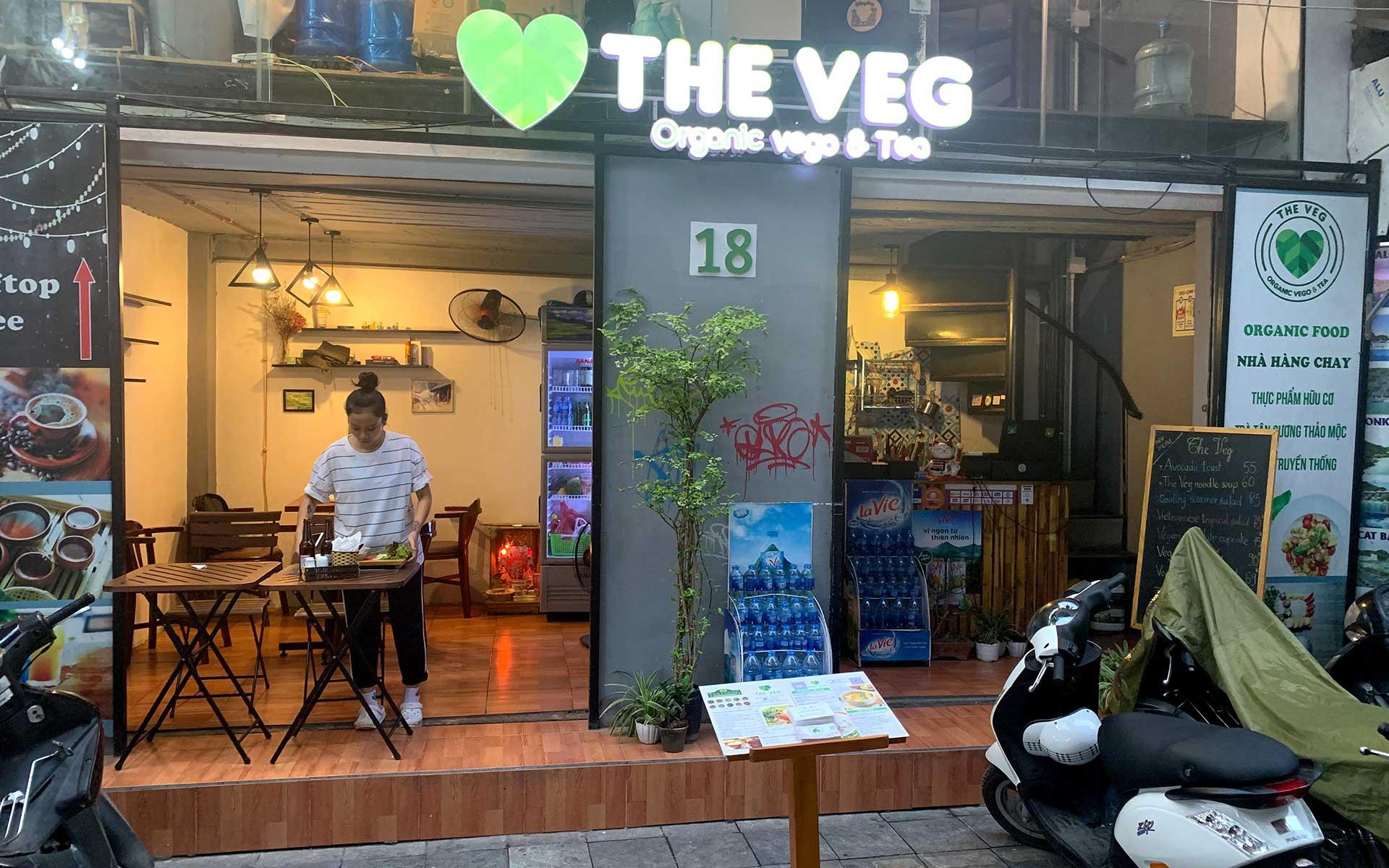 Clean venue & green meals at The Veg - Organic Vego & Tea