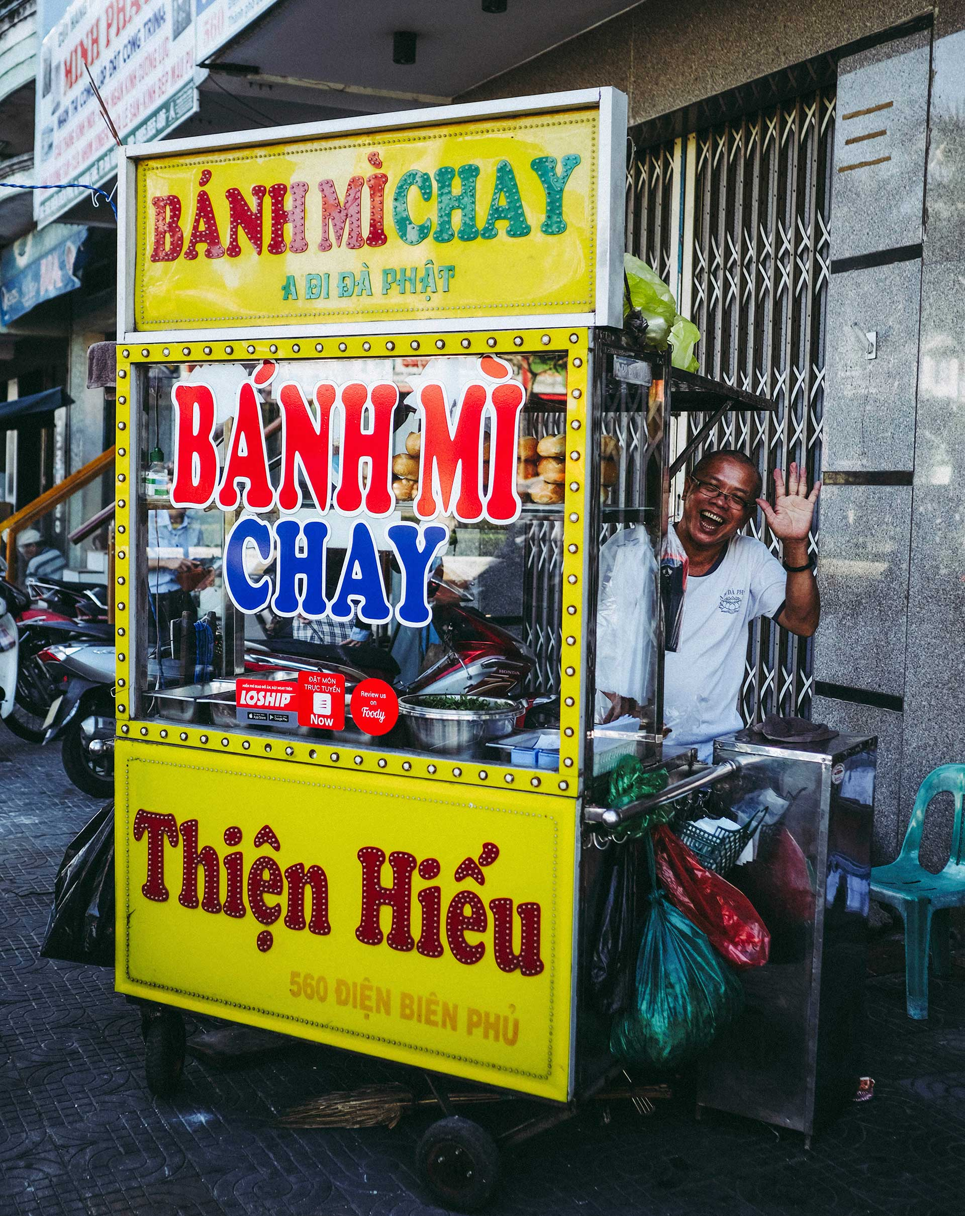 Vegetarian Banh Mi Thien Hieu