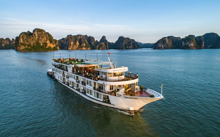 Trying an overnight cruise on Halong Bay is a memorable trip