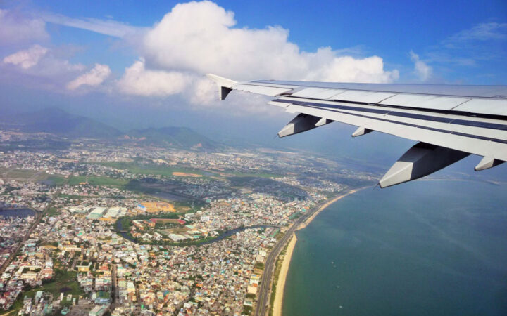 Taking a flight from Hanoi to Danang is the fasest way