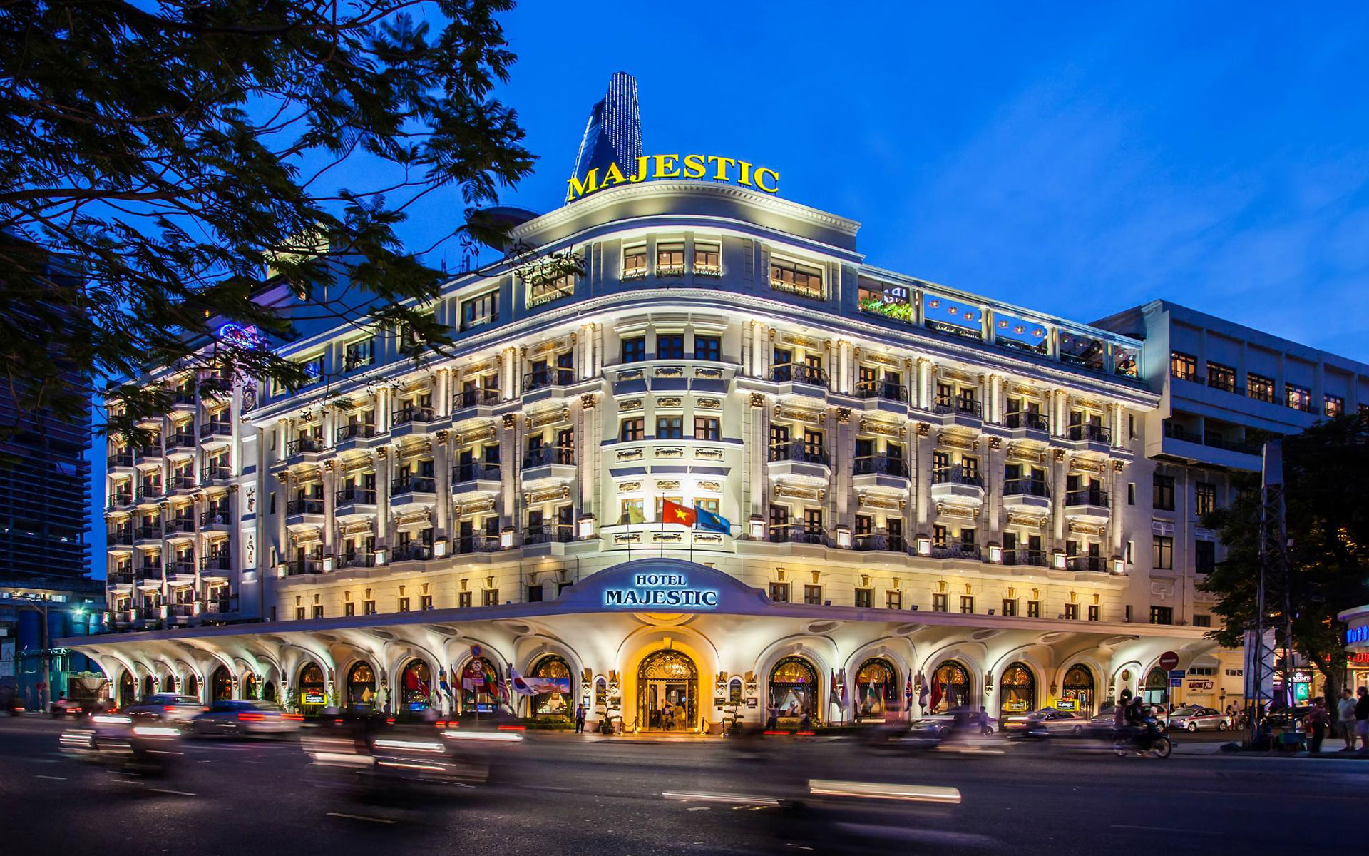 Hotel Majestic Saigon - one of the oldest 5 star hotels in Ho Chi Minh City