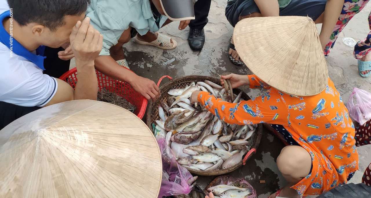 Experience local life at Bai Gieng Market