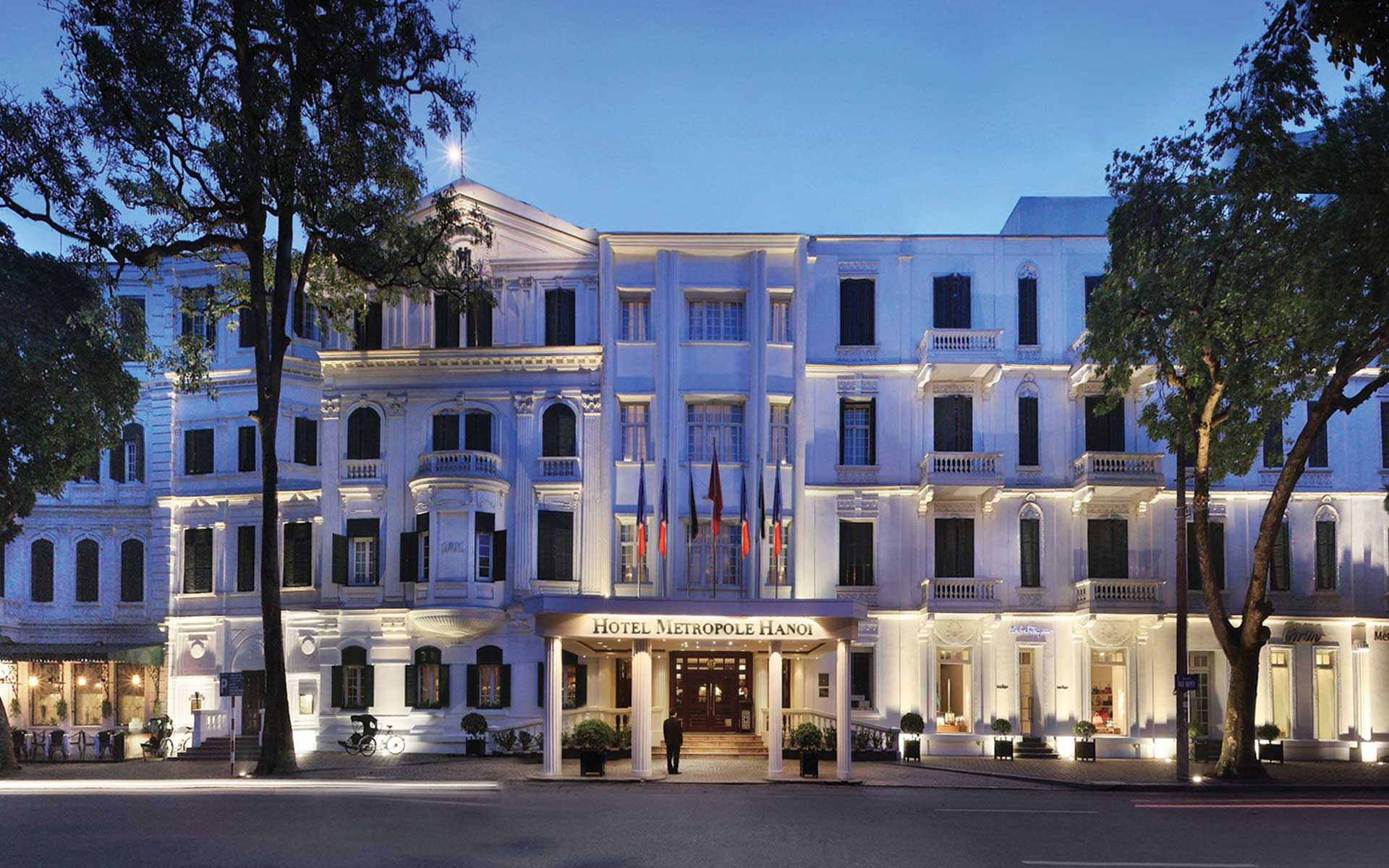 French colonial-style Sofitel Legend Metropole Hanoi