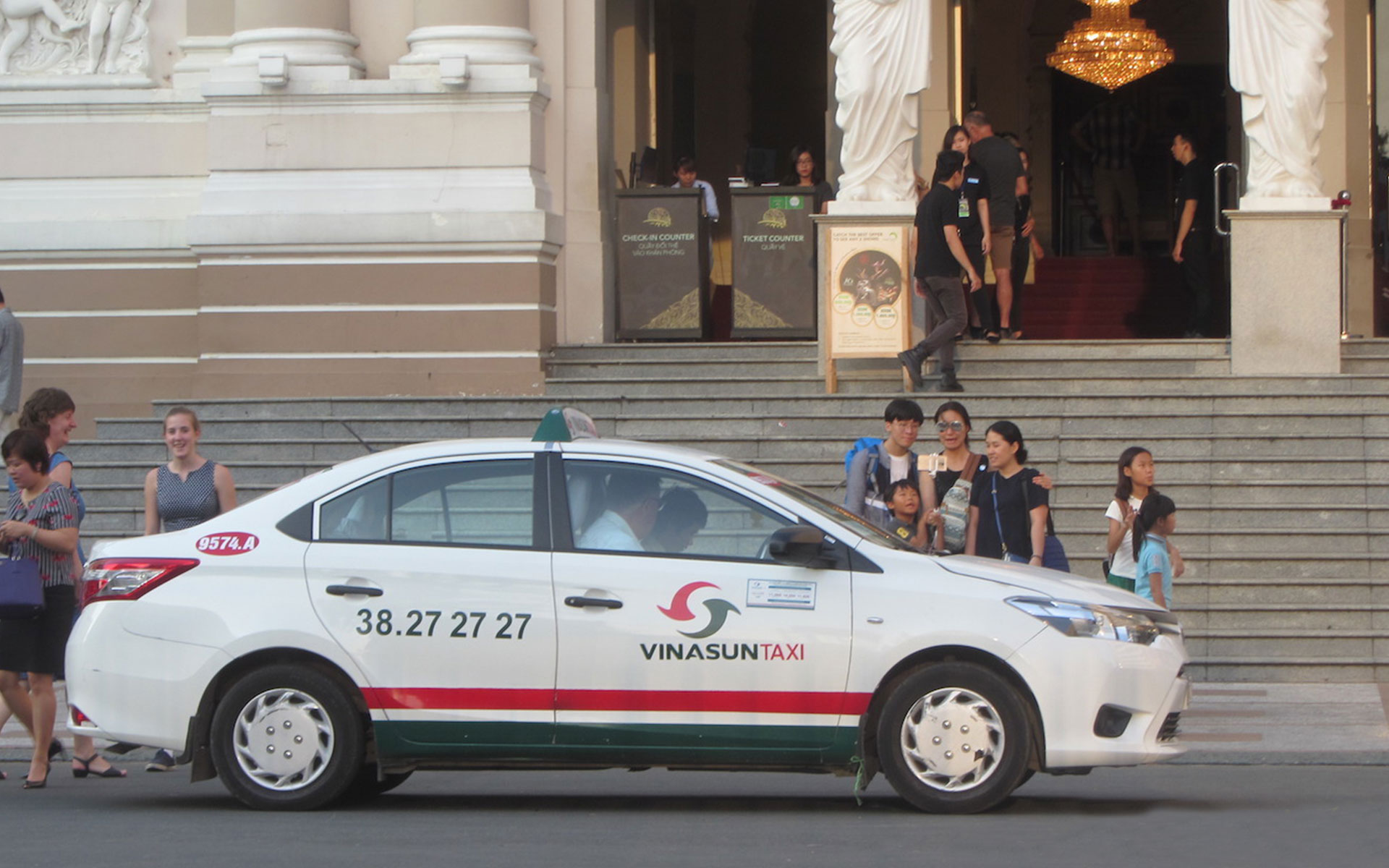 Taxis in Vietnam