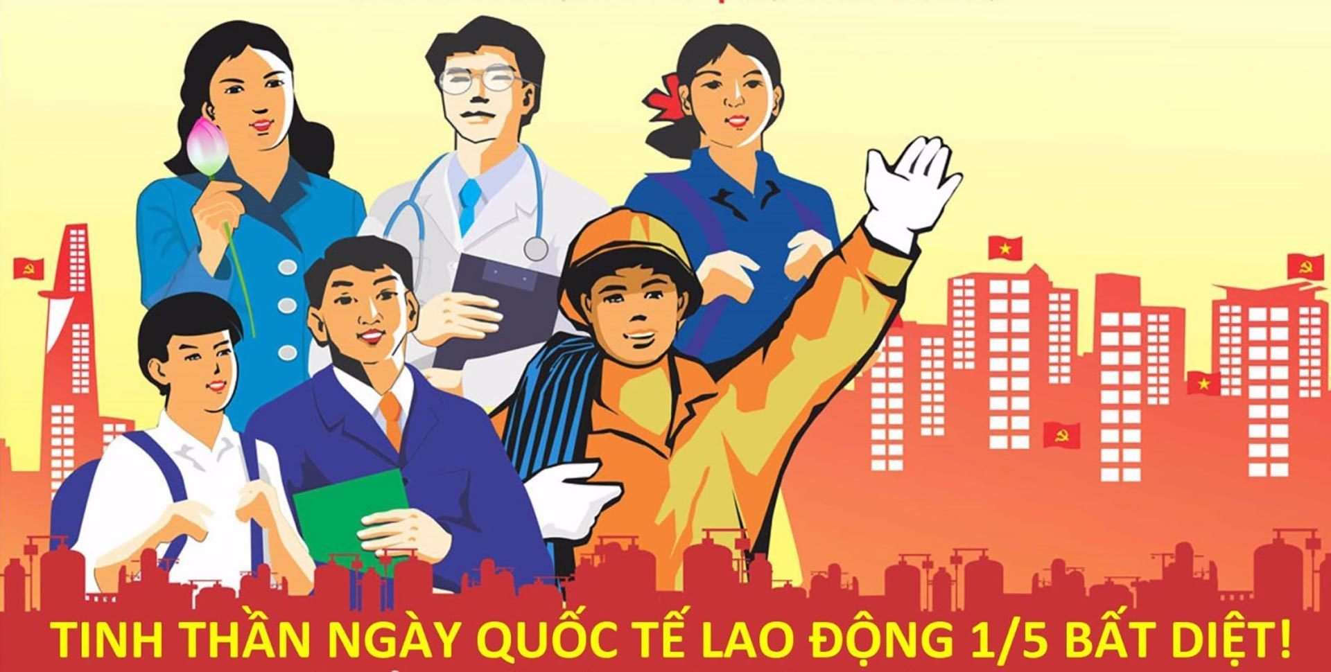 Vietnamese people has one day off on Labor Day on 1st May