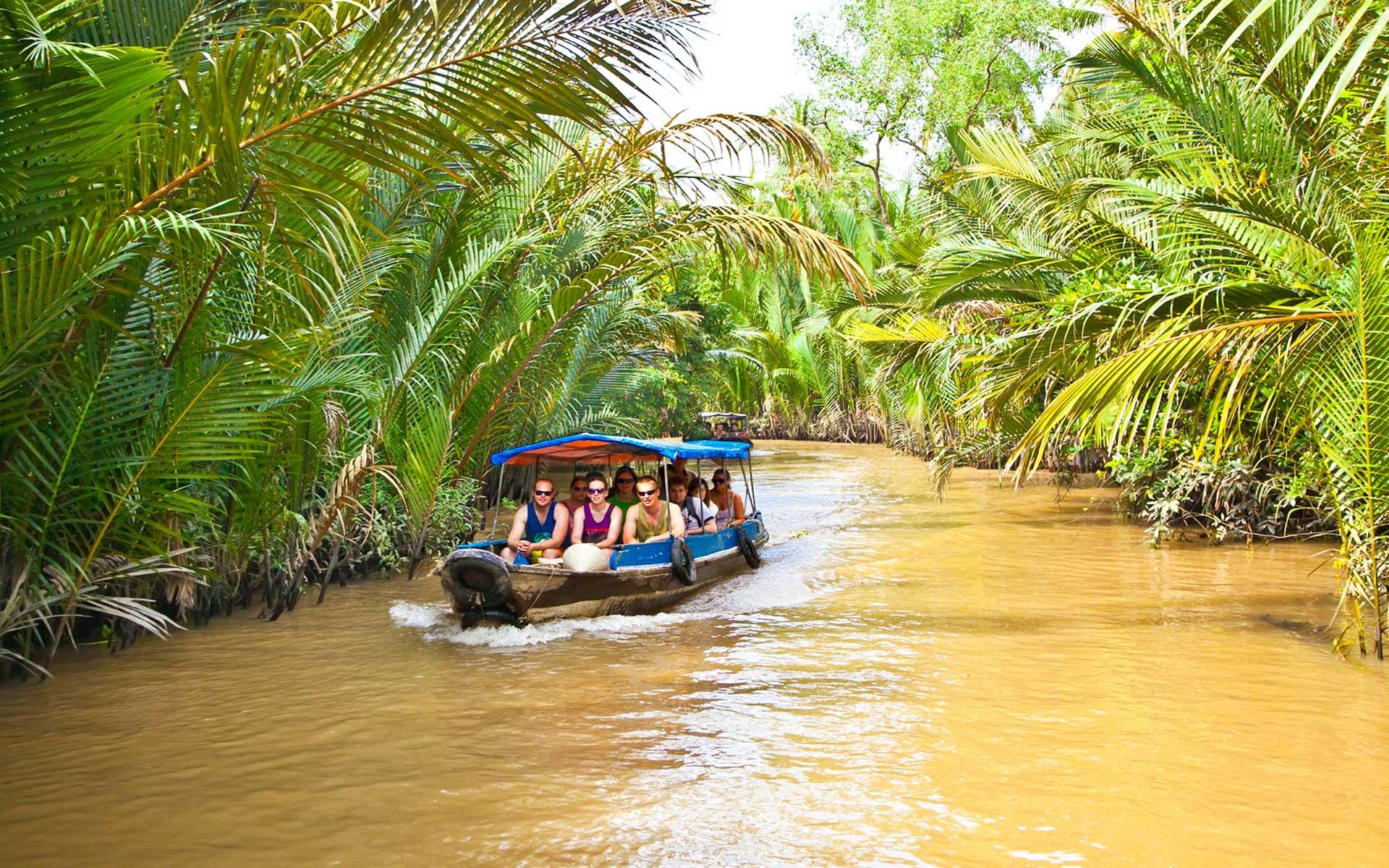 Boat/Sampan in Ben Tre