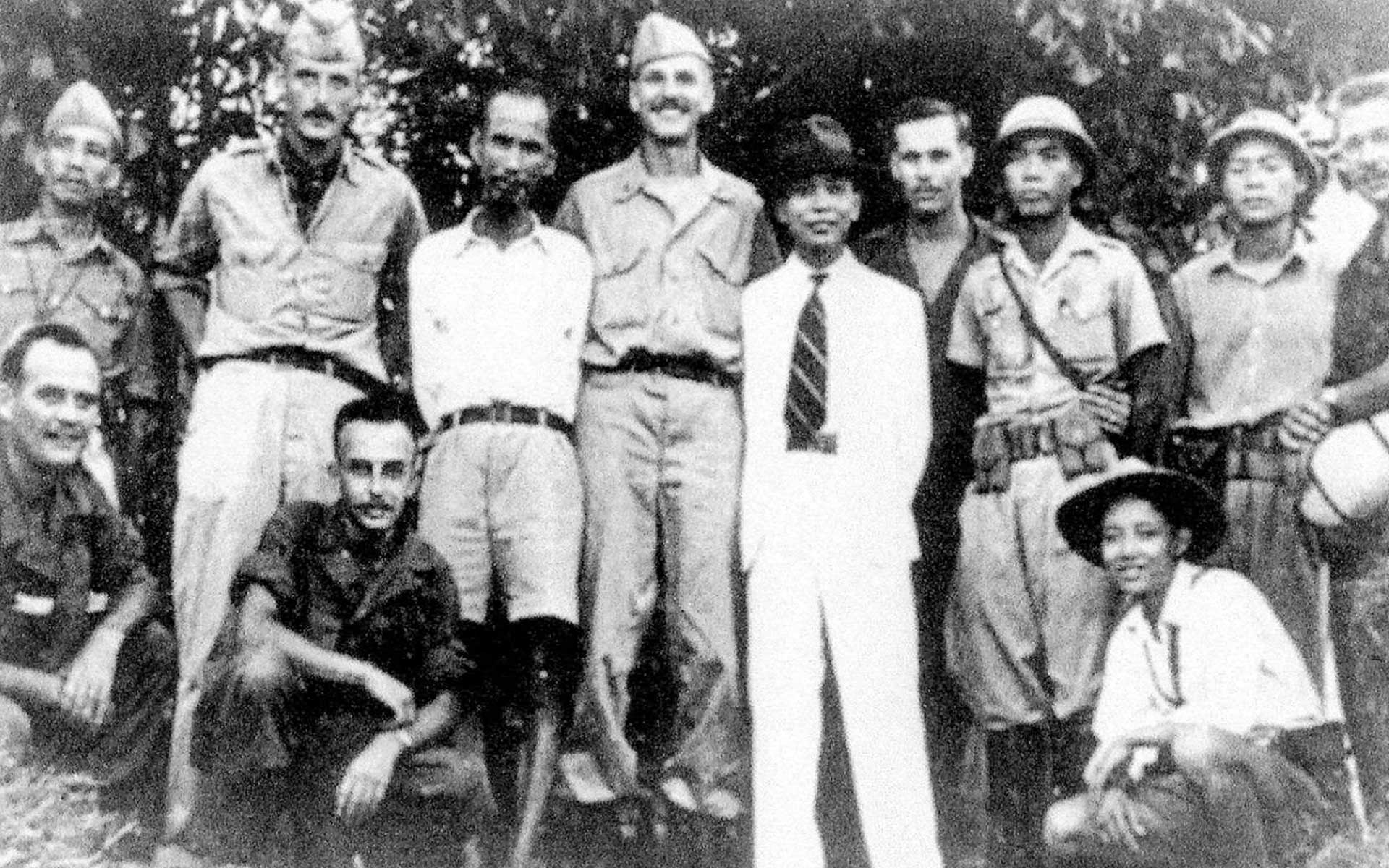 historical picture of President Ho Chi Minh