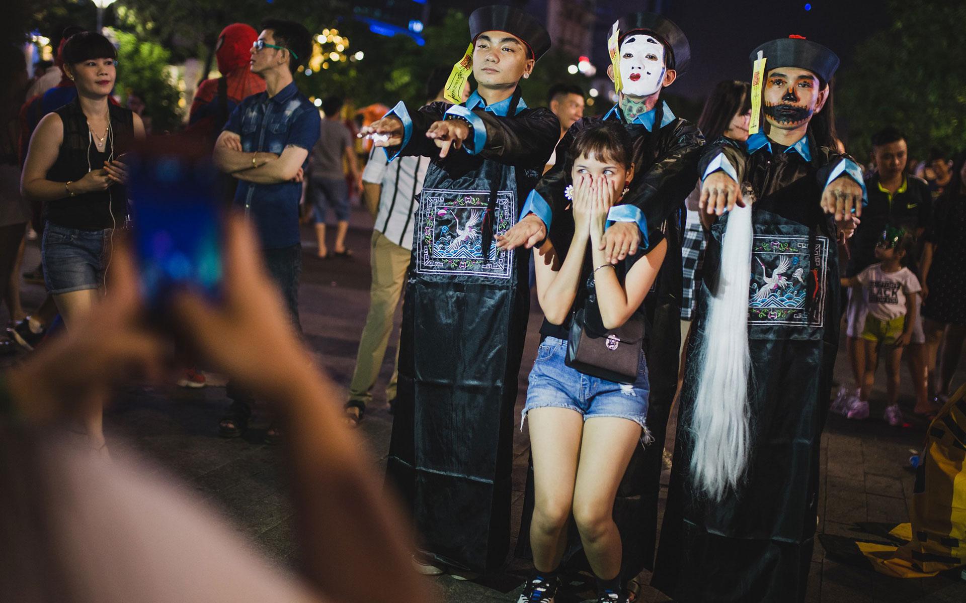Halloween Day in Vietnam