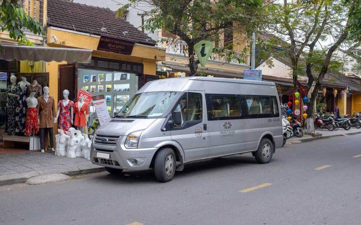 shuttle bus to Hoi An