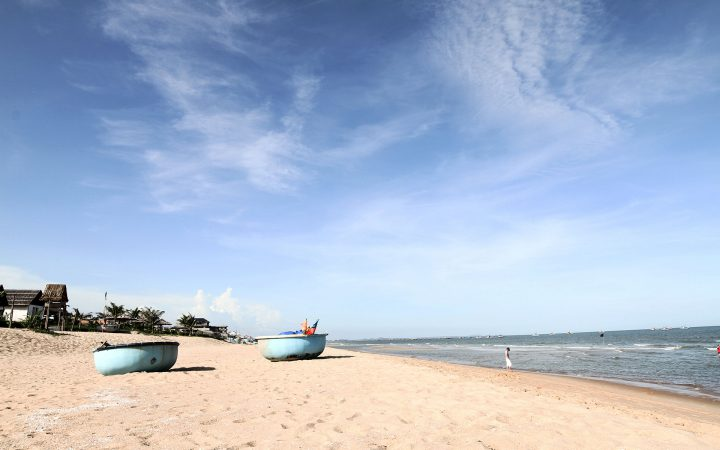 Coming to Long Hai Beach if you want to feel tranquil atmosphere.