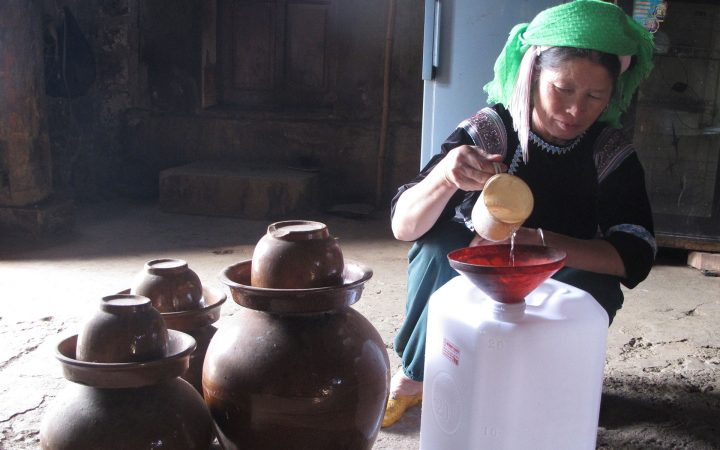 Rice Wine - traditional vietnamese drinks