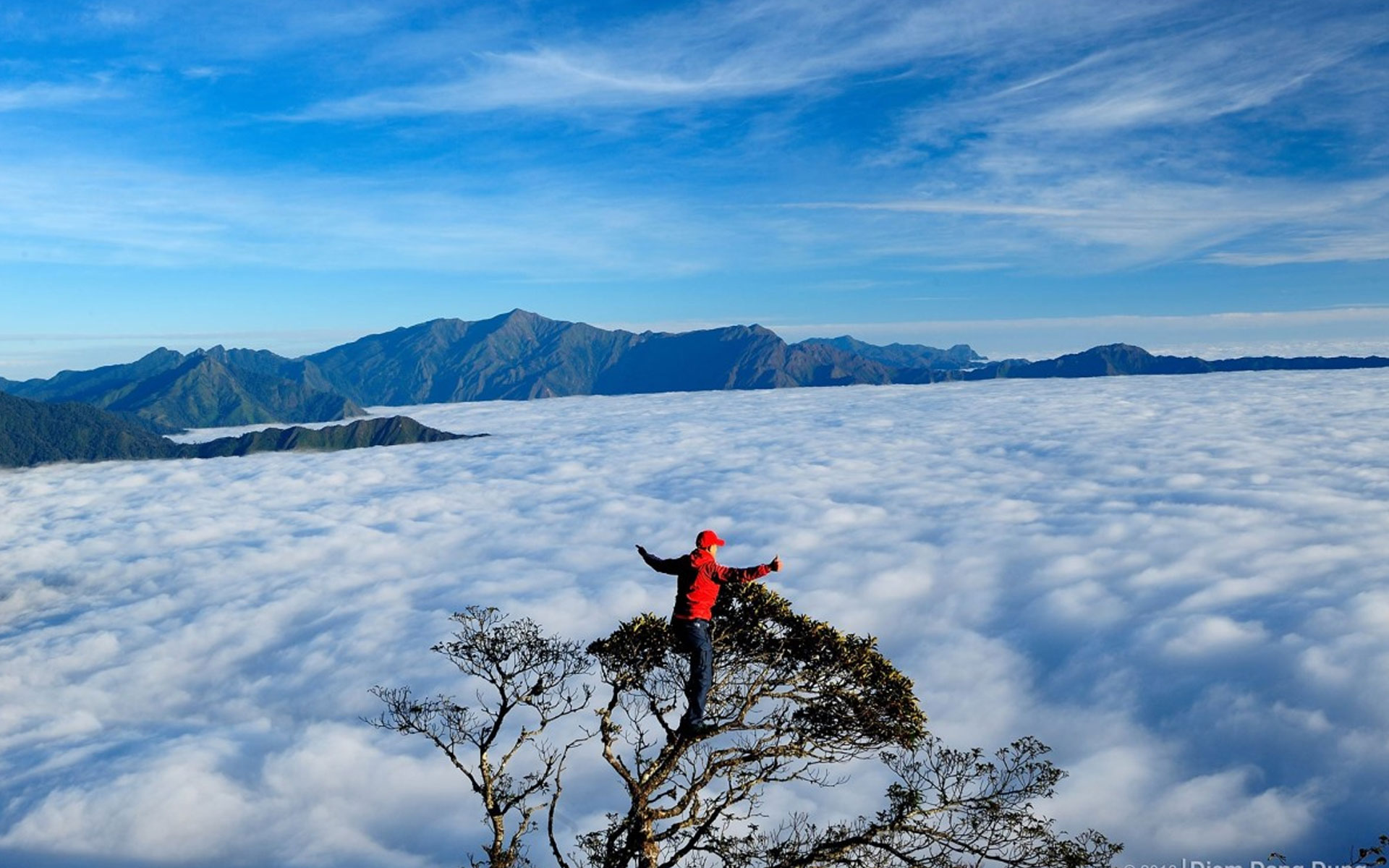 "Hunting clouds"" in mountain tops of Ta Chi Nhu & Ta Xua Mountain Peaks is the great purpose of many adventurous travelers."