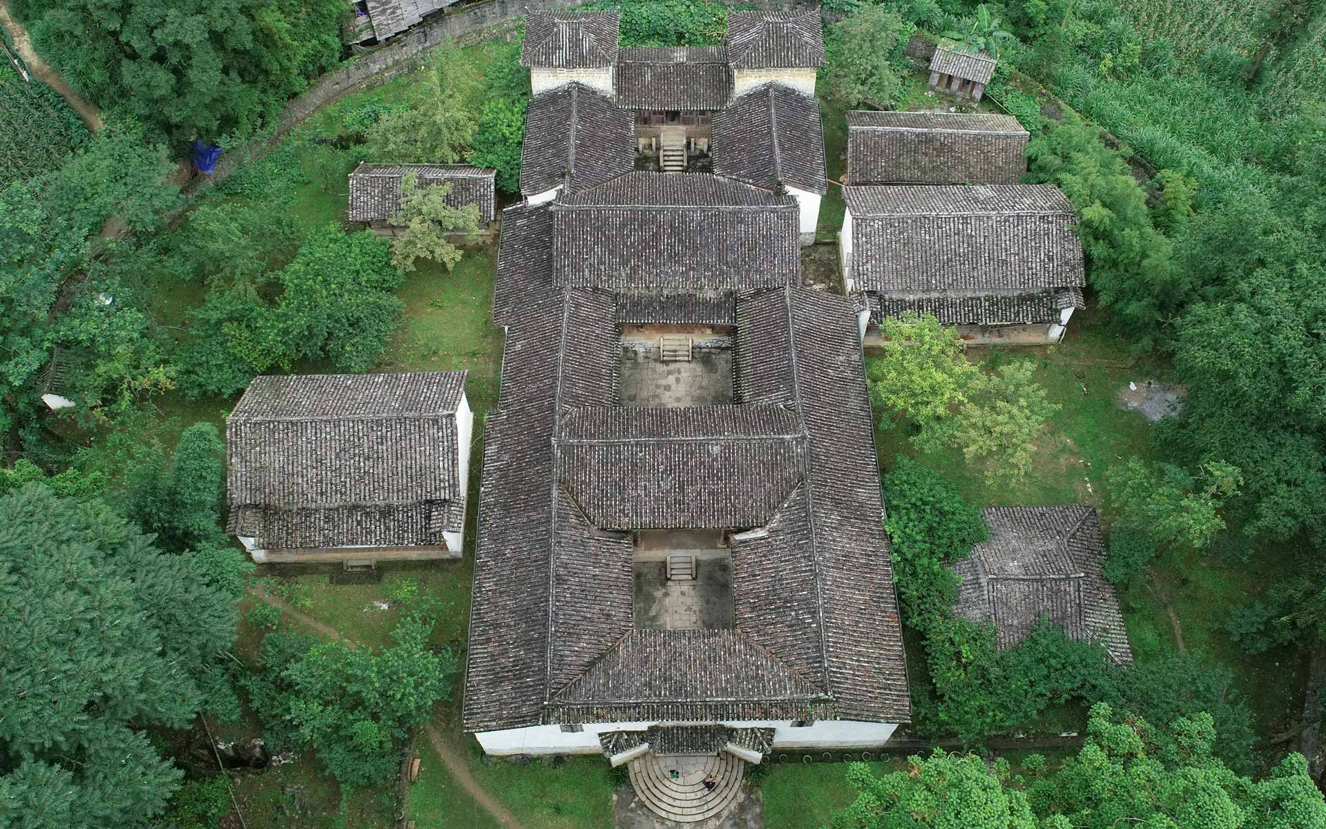 The mansion of Vuong Family