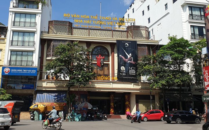 Vietnam National Tuong Theater - Venue of Lang Toi show