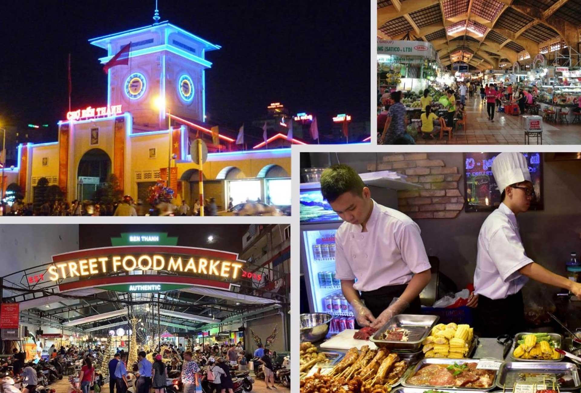 Ben Thanh night market