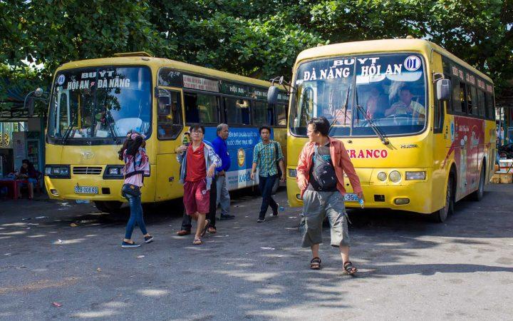 public bus to Hoi An