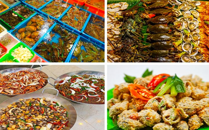 Hundreds of food and fresh seafood courts with weekly update menu can surely satisfy all gourmets.
