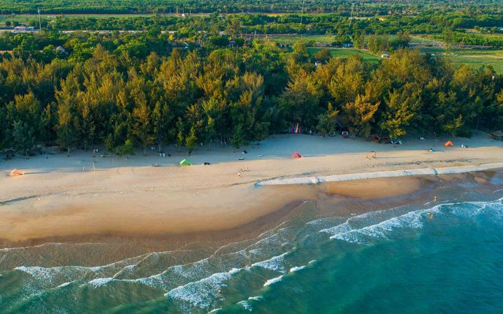 Ho Tram Beach – one of the most beautiful and pristine beaches in the world by a famous American TV channel.