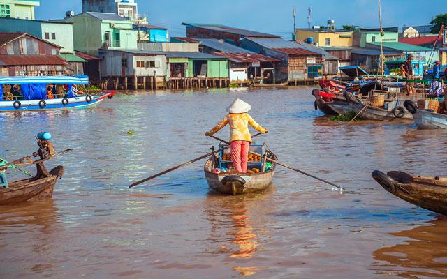 Saigon and Phnom Penh Short Cruise