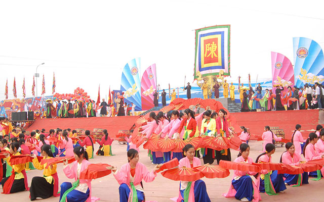 Tran Temple's Royal Seal Opening Ceremony