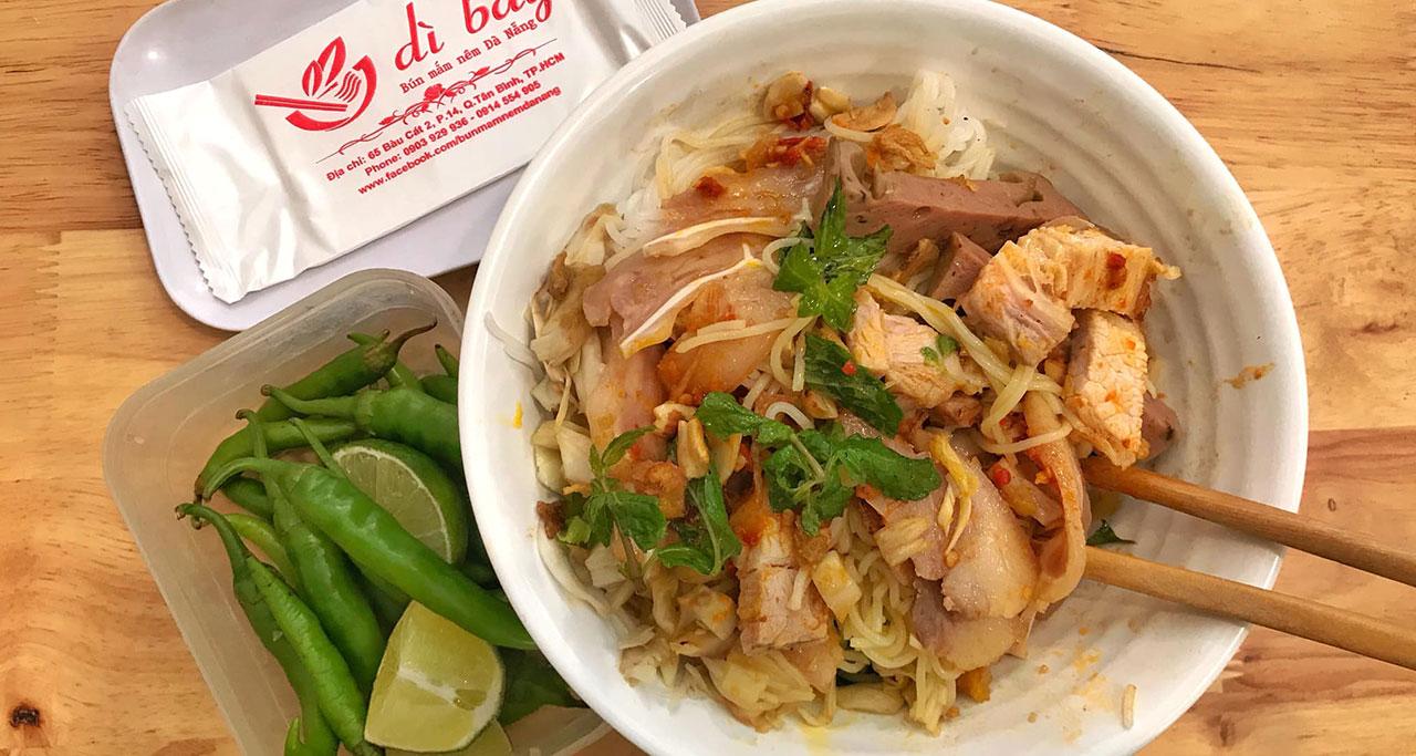 Bun Mam Da Nang - tasty dish you should try