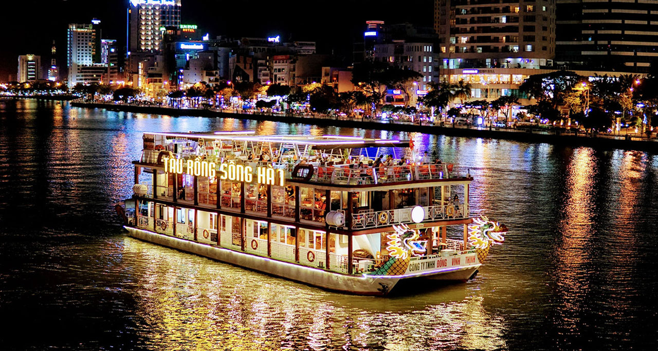 Discover the best nightlife in Danang, Vietnam including Cruising On Han River.