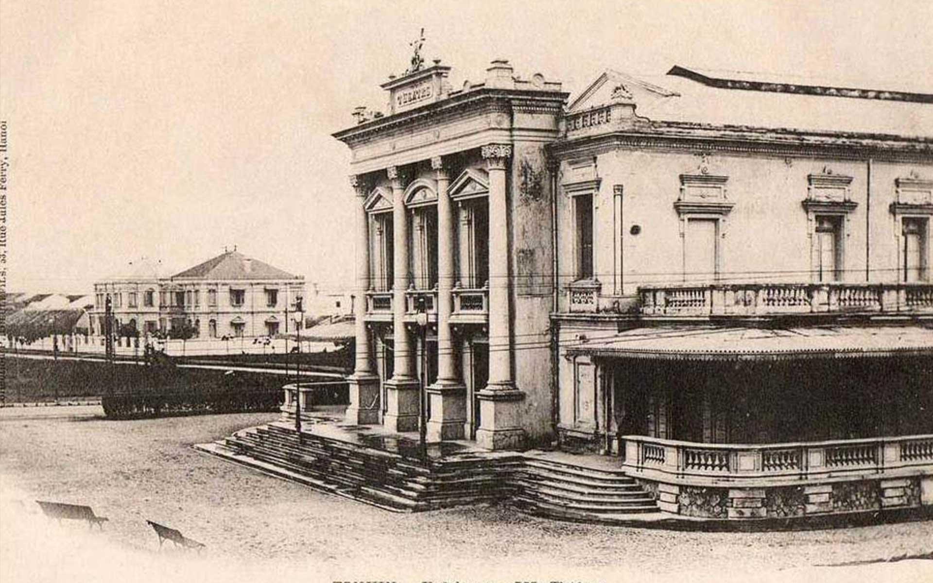 old image of Hai Phong Opera House