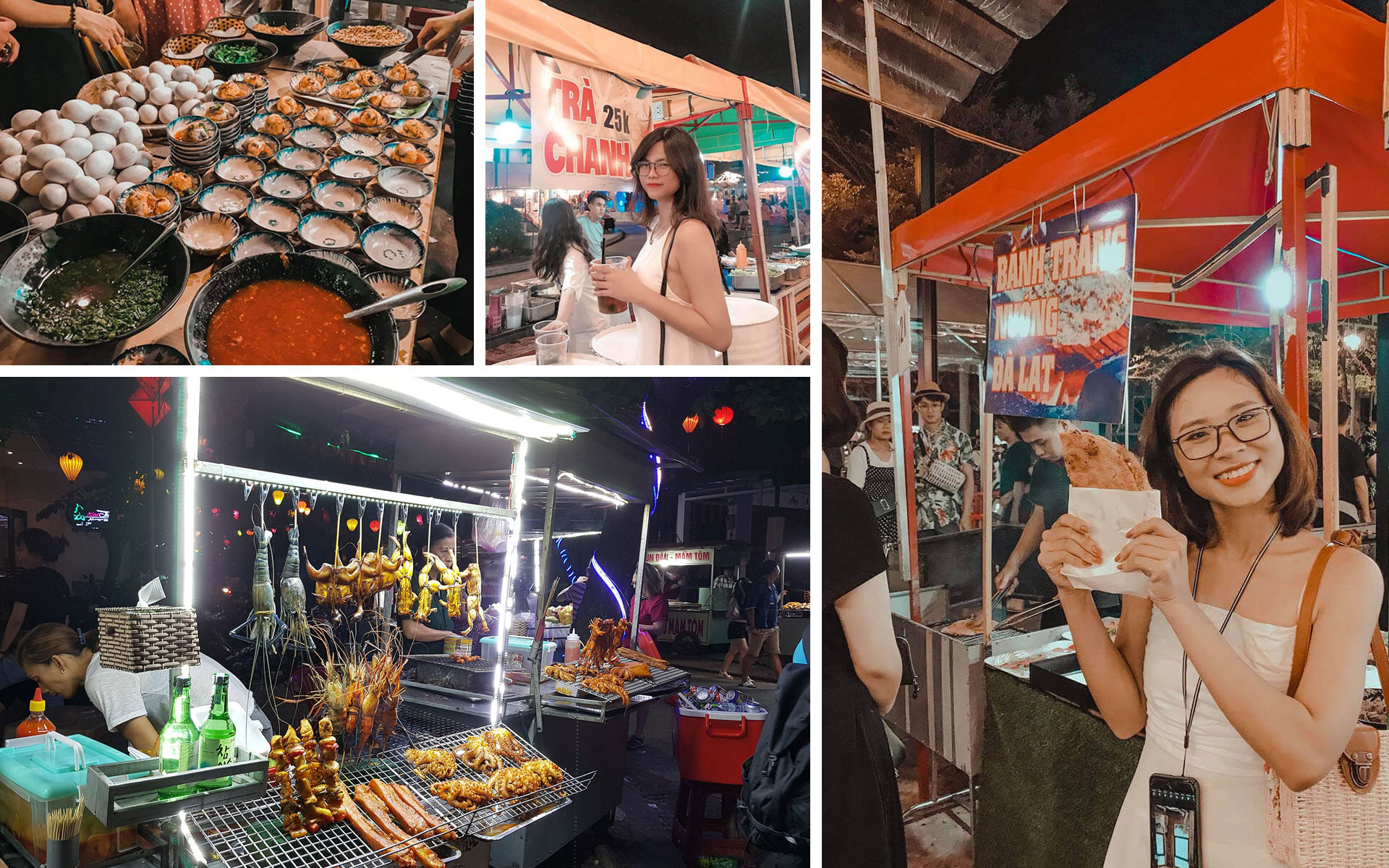 Many other delicious street food at night market are waiting for your taste.