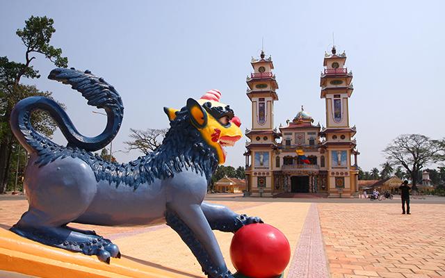 Cao Dai Temple, Tay Ninh