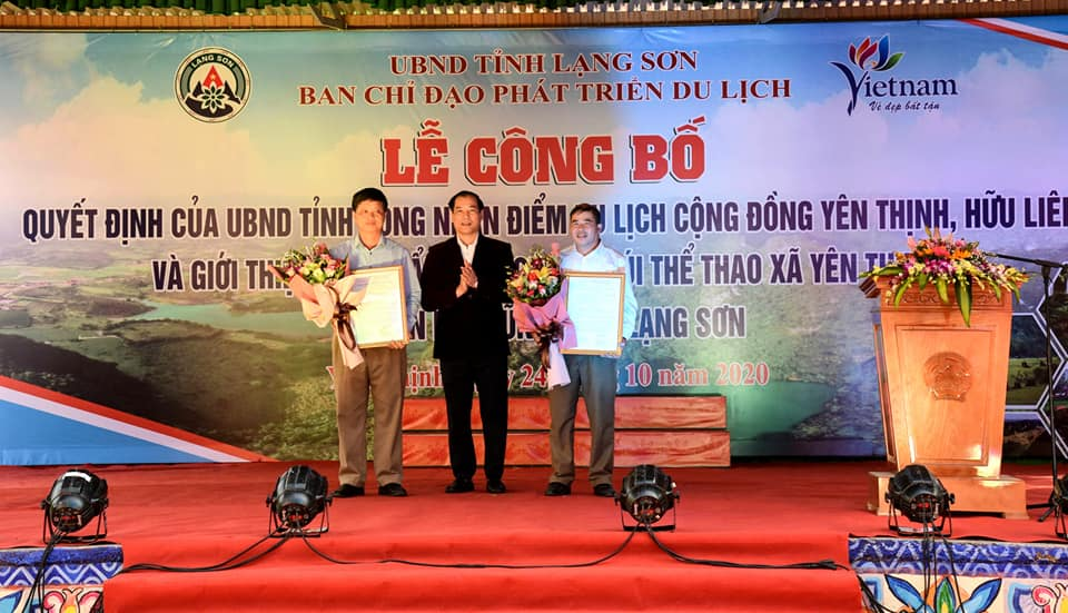 Launching ceremony in Huu Lung, Lang Son