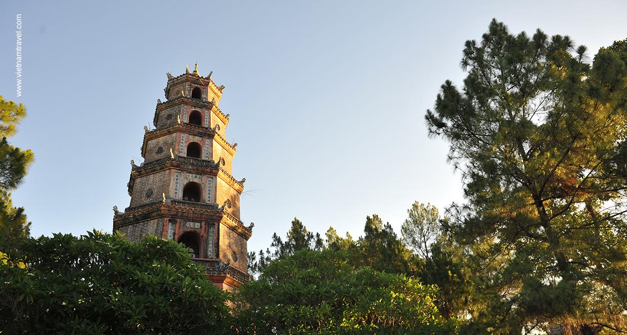 Phuoc Duyen tower, Thien Mu Pagoda