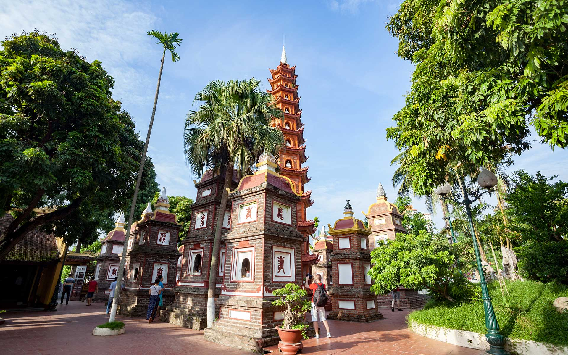 Bao Thap - Architecture of Tran Quoc Pagoda