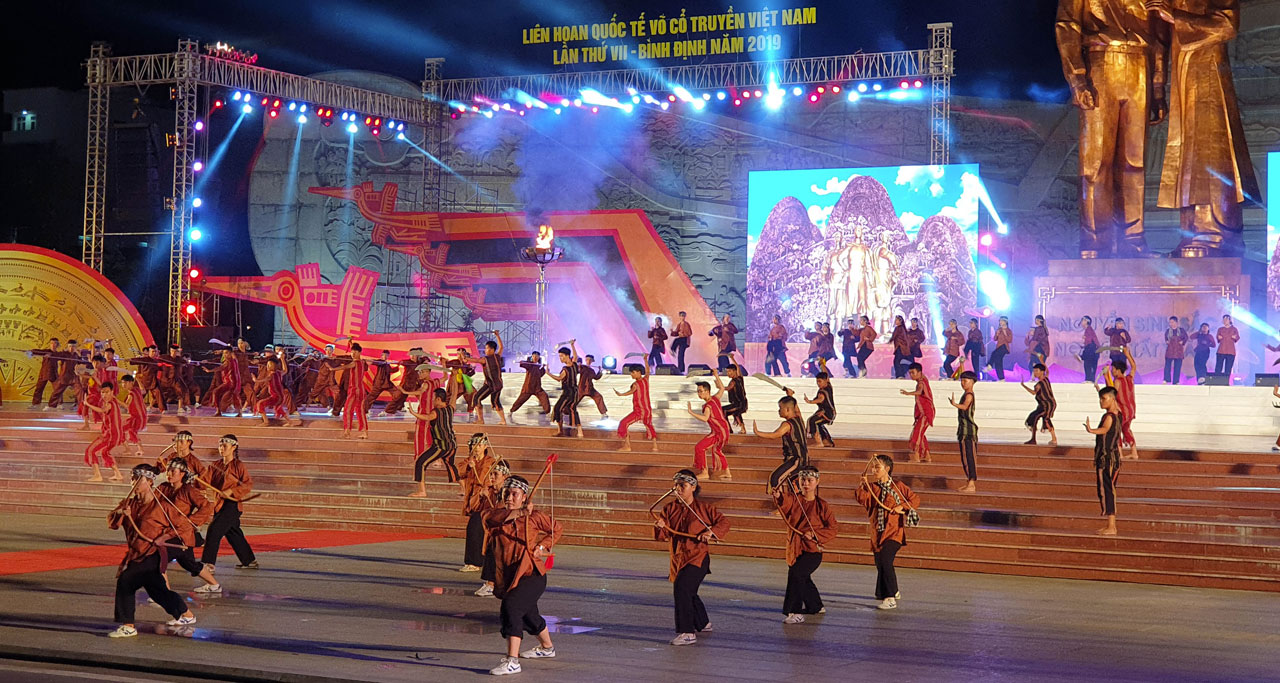 Festival of Traditional Vietnamese Martial Arts in 2019 in Binh Dinh Province